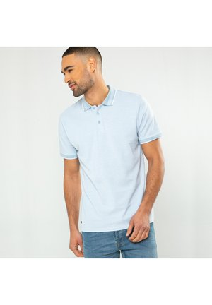 THREADBARE POLOHEMDEN - Polo shirt - hellblau