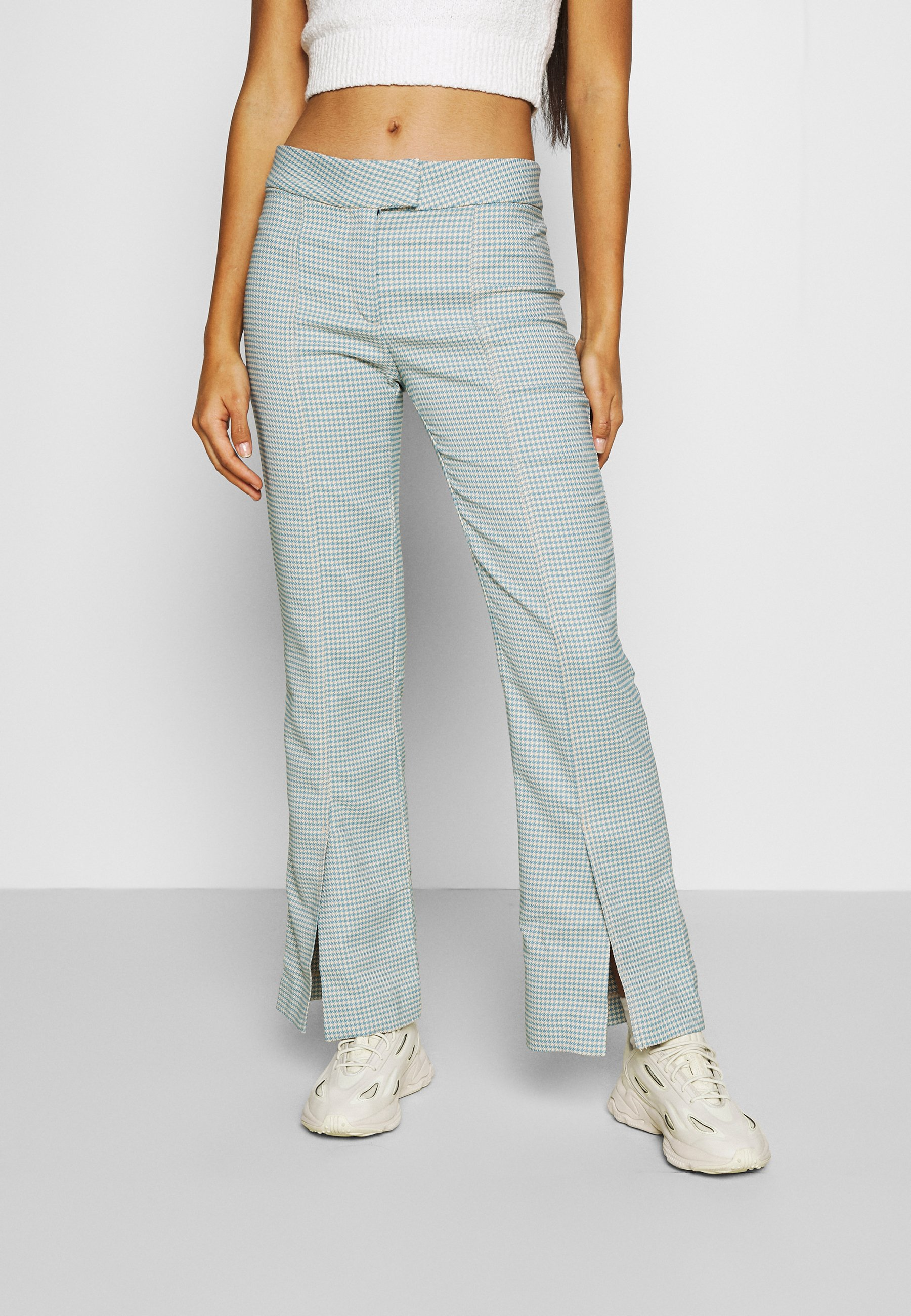 Women KINNI PLEAT TROUSER - Trousers