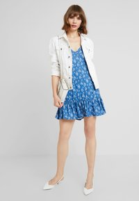 Nly by Nelly - IN YOUR DREAMS DRESS - Jersey dress - blue - 1