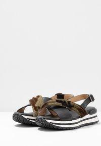 MAHONY - CLONE - Platform sandals - black - 4