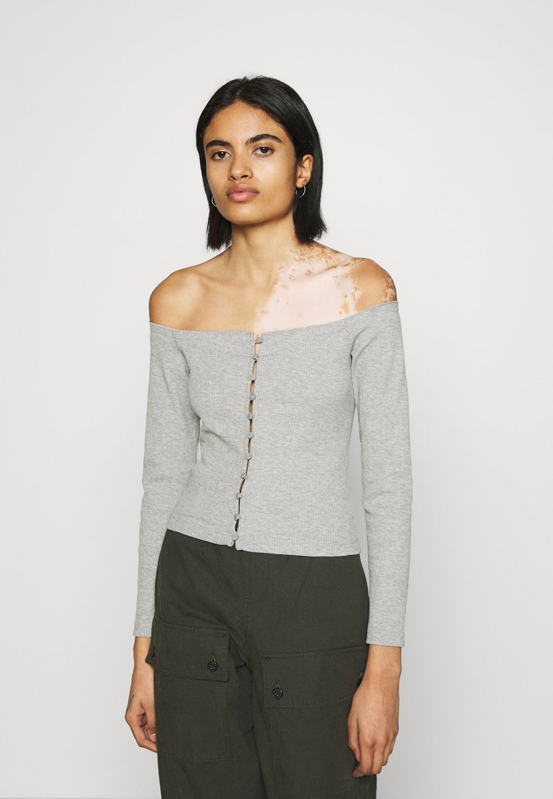 Even&Odd - Blouse - mottled grey