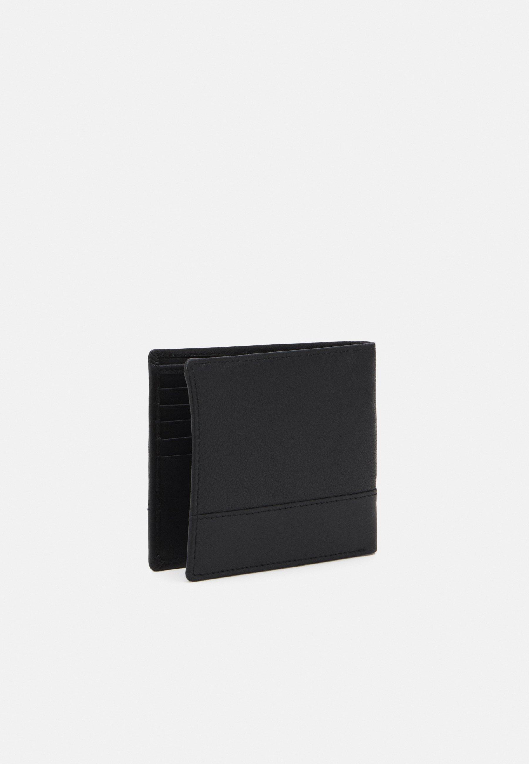 Pier One LEATHER SET WALLET  BELT - Geldbörse - black/schwarz - Herrentaschen kYTNN