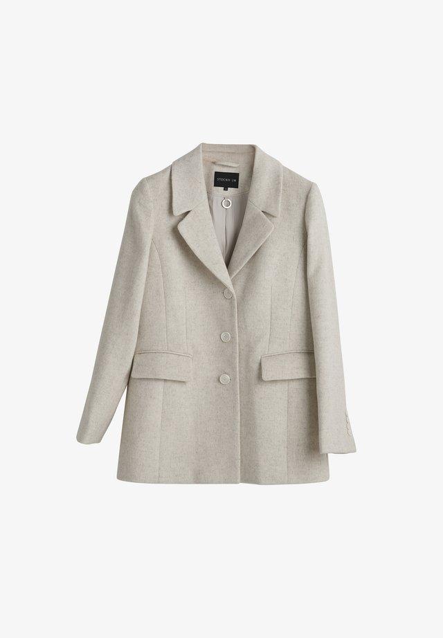JANE - Pitkä takki - beige melange