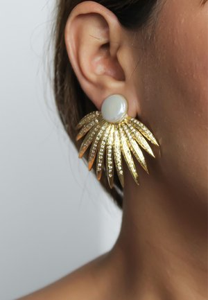 SHELL - Earrings - gold