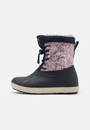 Winter boots - multicoloured/dark blue
