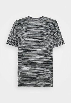 SHORT SLEEVE - T-Shirt print - bianco/nero