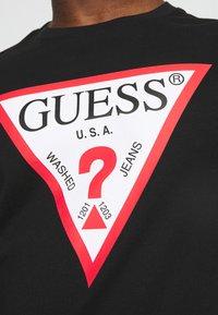 Guess - ORIGINAL LOGO - Long sleeved top - jet black - 5