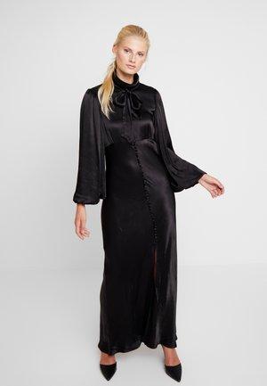 SALLY LONG DRESS - Galajurk - black