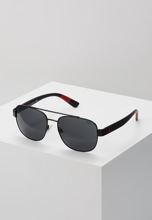 Sonnenbrille - semishiny black/grey