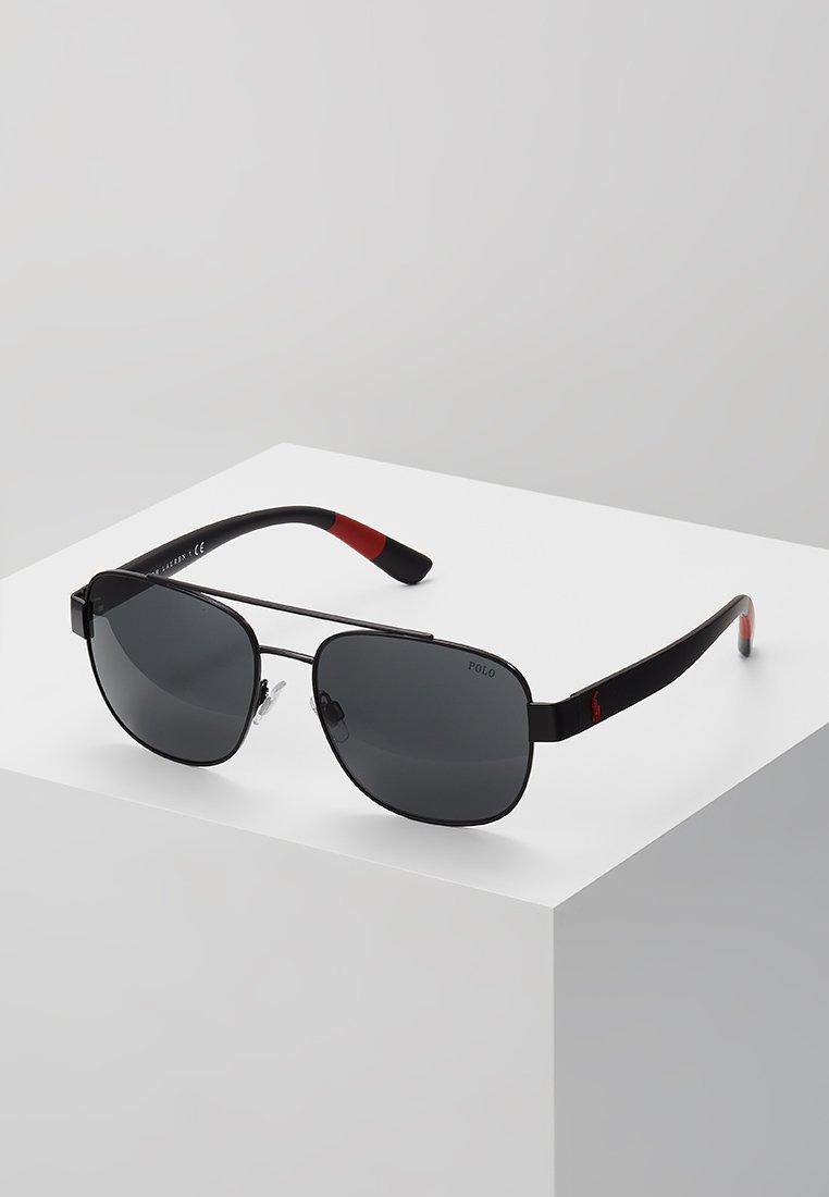 Polo Ralph Lauren - Sunglasses - semishiny black/grey