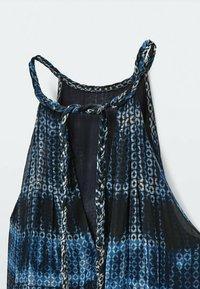 Massimo Dutti - Maxi dress - blue - 6