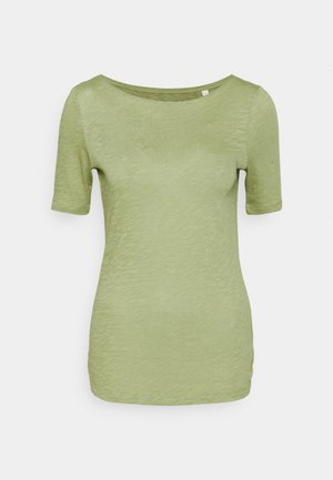 SHORT SLEEVE BOAT NECK - Basic T-shirt - dried sage