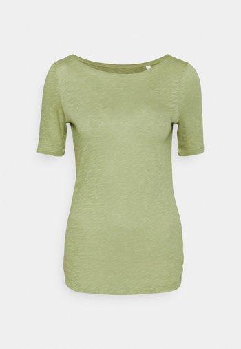 SHORT SLEEVE BOAT NECK - Basic T-shirt - dried sage