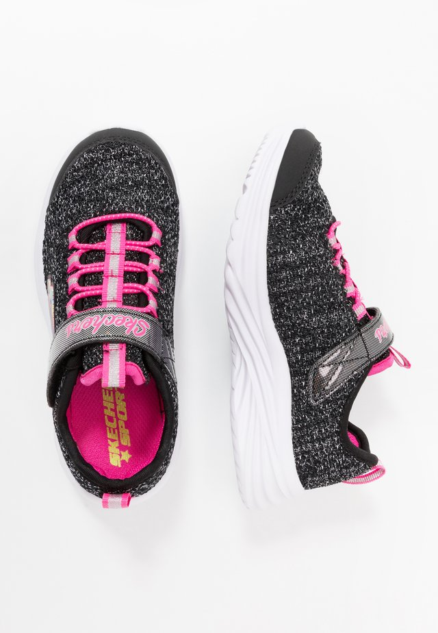 DREAMY DANCER - Sneakers - black sparkle/neon pink