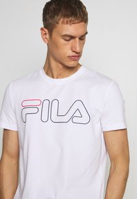 Fila - RICKI - Printtipaita - white - 4