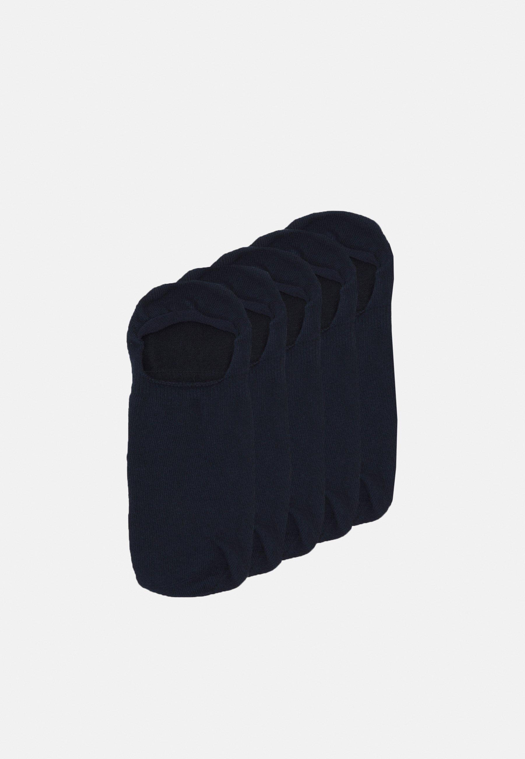 Men WILLOW NO SHOW FOTTIE 5 PACK - Trainer socks