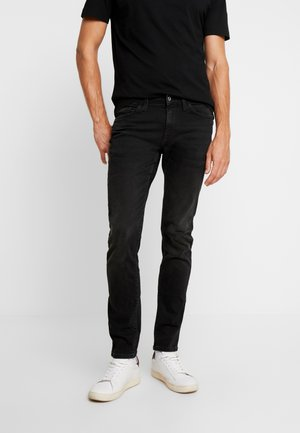 FOSLOIR - Jeans Slim Fit - noir