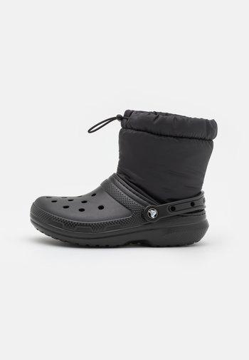 CLASSIC LINED NEO PUFF BOOT UNISEX - Gummistøvler - black