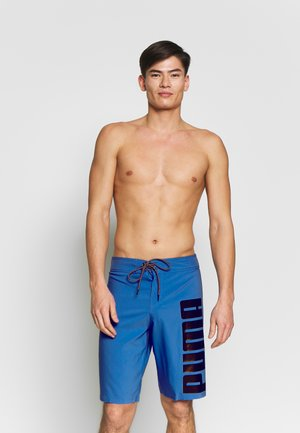 SWIM MEN LONG BOARD - Swimming shorts - blue