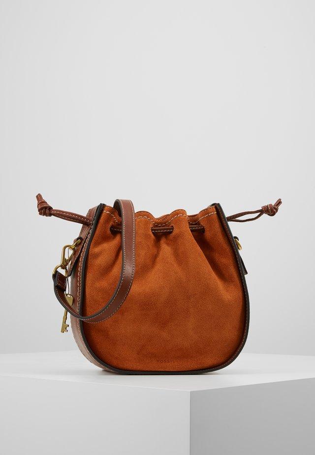 PALMER - Käsilaukku - brown