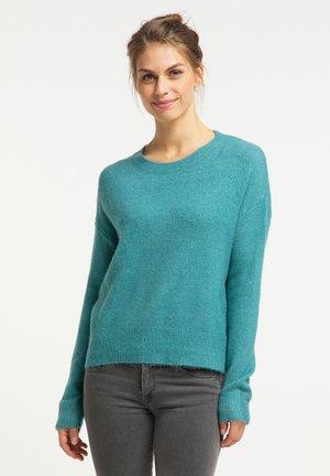 Sweter - türkis