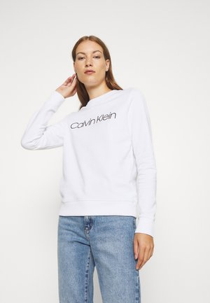CORE LOGO - Sweatshirt - bright white