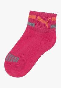 Puma - KIDS CLYDE QUARTERS 4 PACK - Ponožky - pink/white - 3