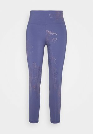 7/8 WORKOUT LEGGINGS - Medias - crown blue/bronze