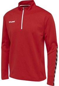 Hummel - HMLAUTHENTIC - Sweatshirt - true red - 2