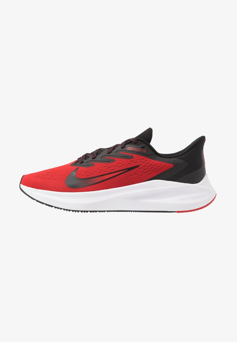 Nike Performance - ZOOM WINFLO 7 - Neutral running shoes - university red/black/white