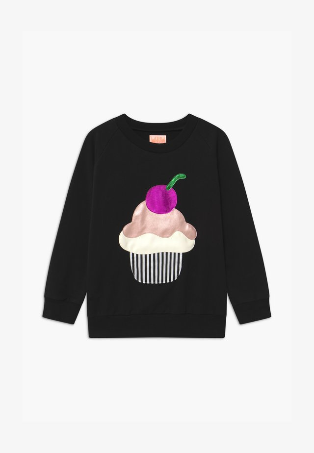 SWEET CUPCAKE - Bluza - black