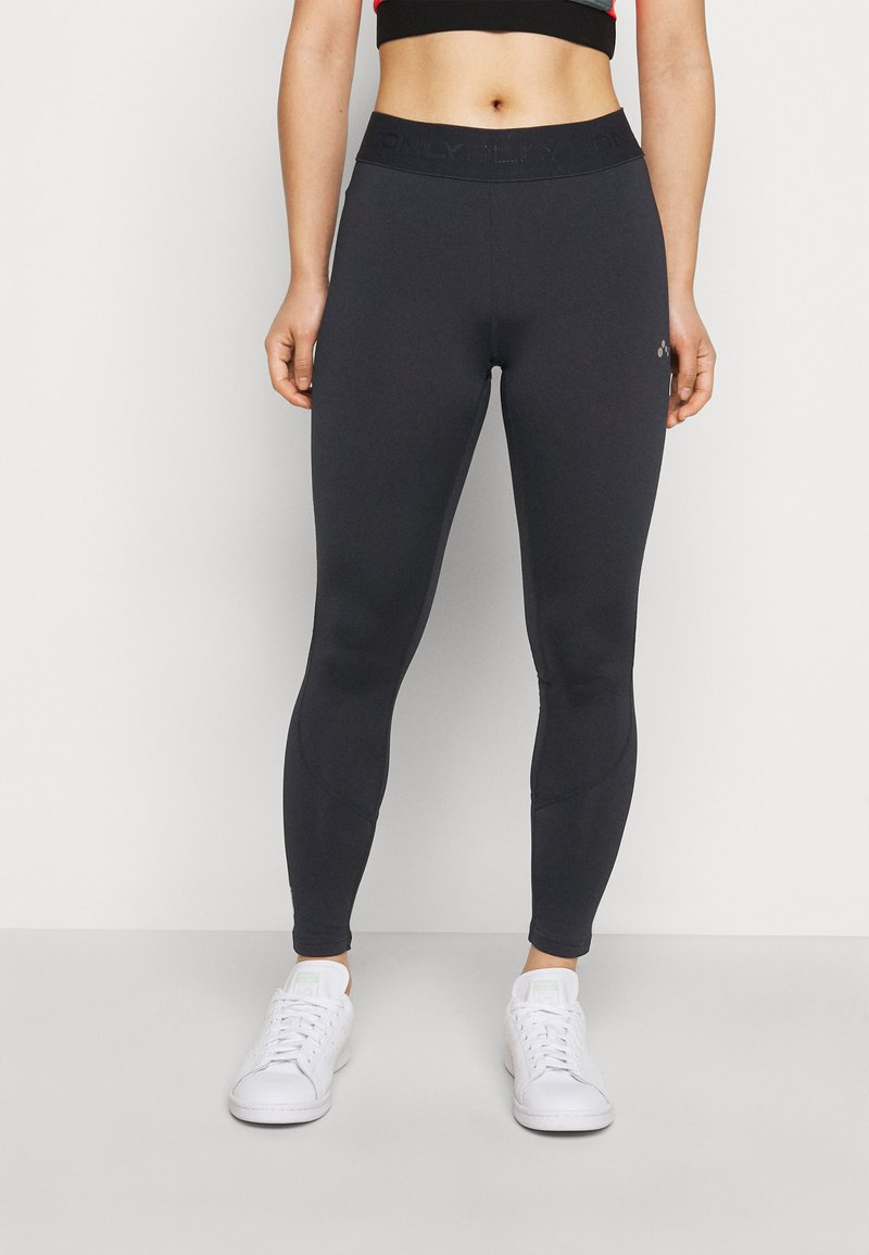 ONLY PLAY Petite - ONPGILL HISS BRUSHED TRAIN TIGH - Leggings - Trousers - black