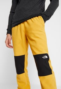 The North Face - GLACIER PANT - Spodnie treningowe - yellow/black - 4