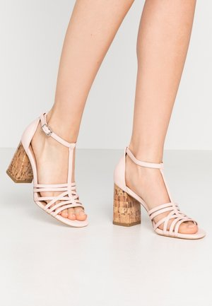 STARSTRUCK - High heeled sandals - blush