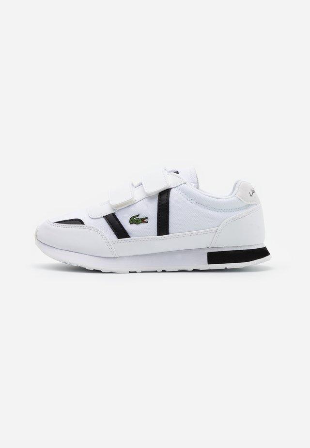 PARTNER  - Baskets basses - white/black