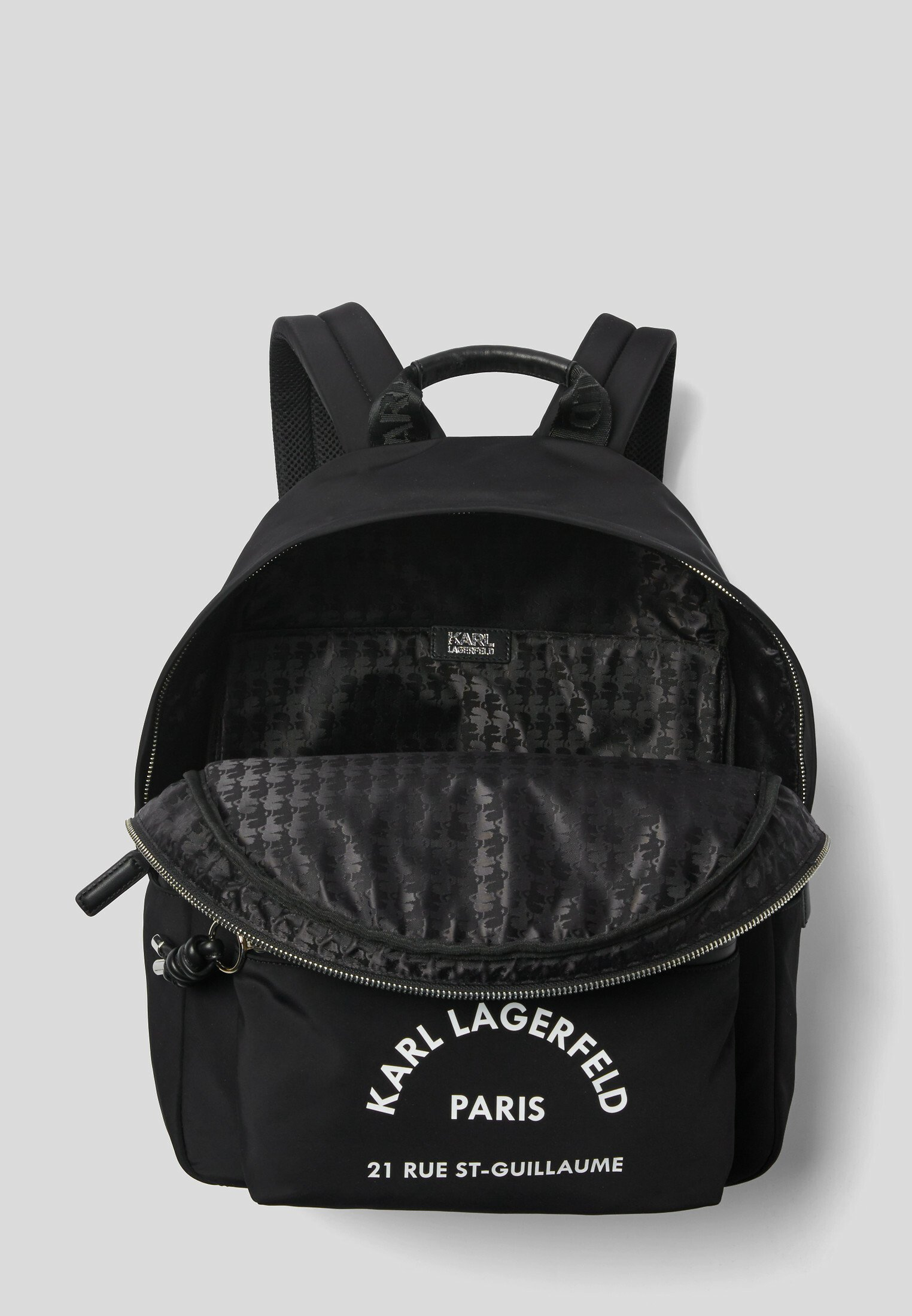 KARL LAGERFELD RUE ST GUILLAUME Ryggsäck black Zalando.se