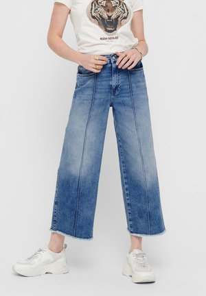 Jean flare - medium blue denim
