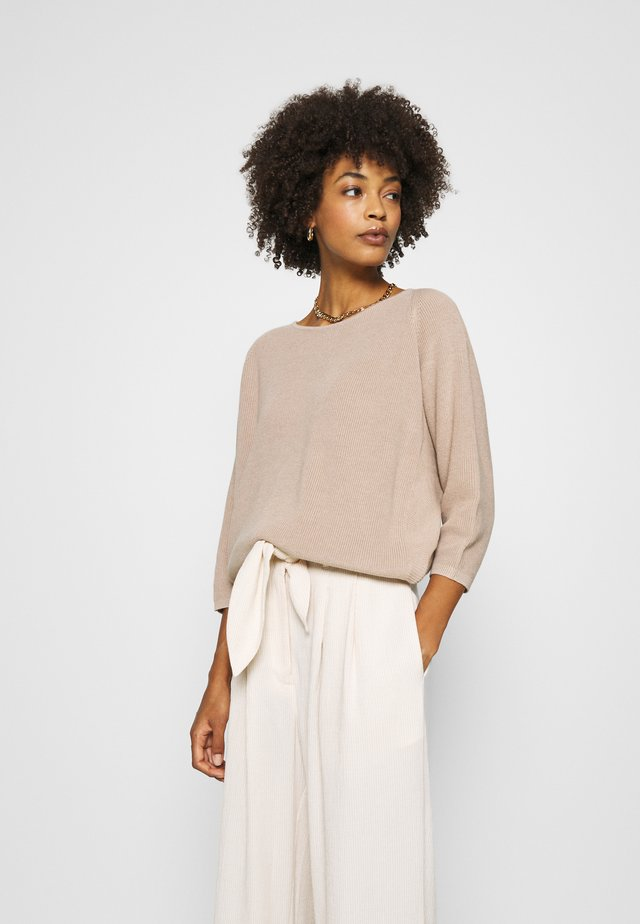 TIRIL - Pullover - natural sand