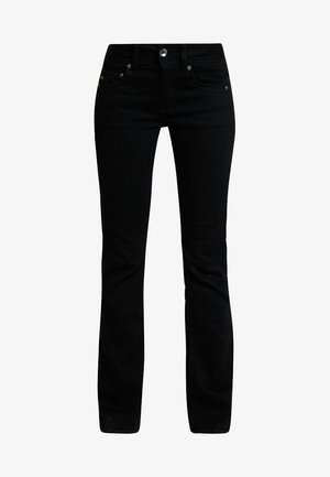 MIDGE MID BOOTCUT   - Bootcut jeans - pitch black