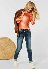Cecil - MUSTER - Long sleeved top - orange - 2
