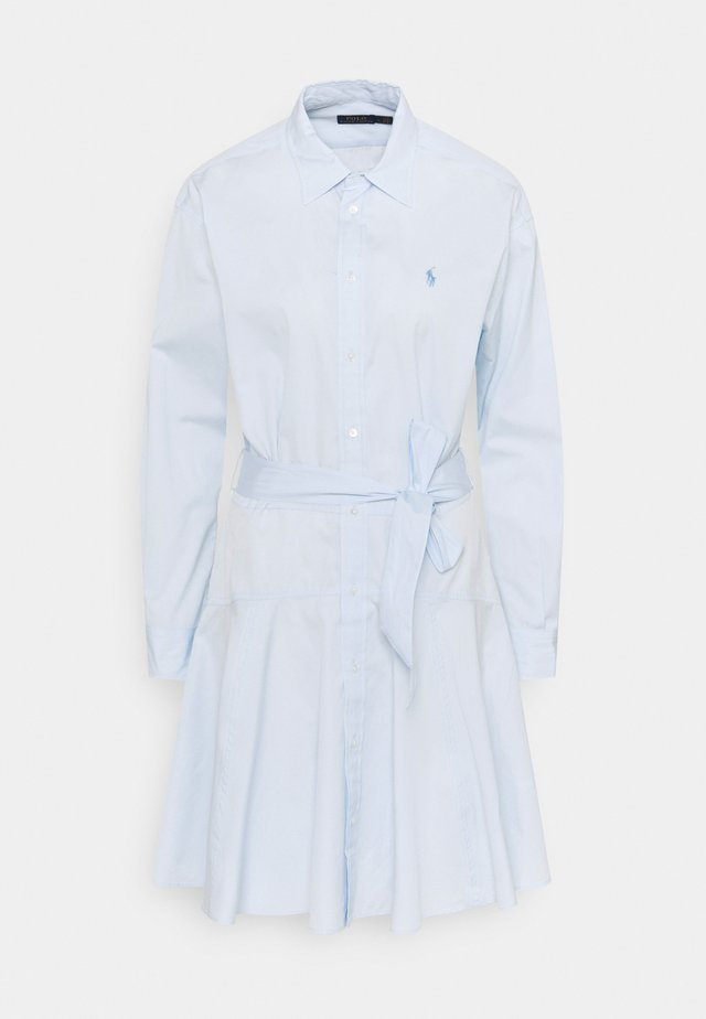 BROADCLOTH - Blusenkleid - beryl blue