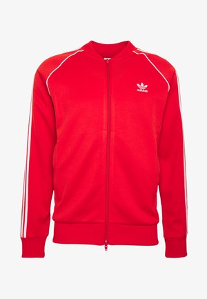 SUPERSTAR ADICOLOR SPORT INSPIRED TRACK TOP - Treningsjakke - lusred