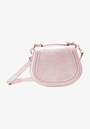 Sac bandoulière - rosa metallic