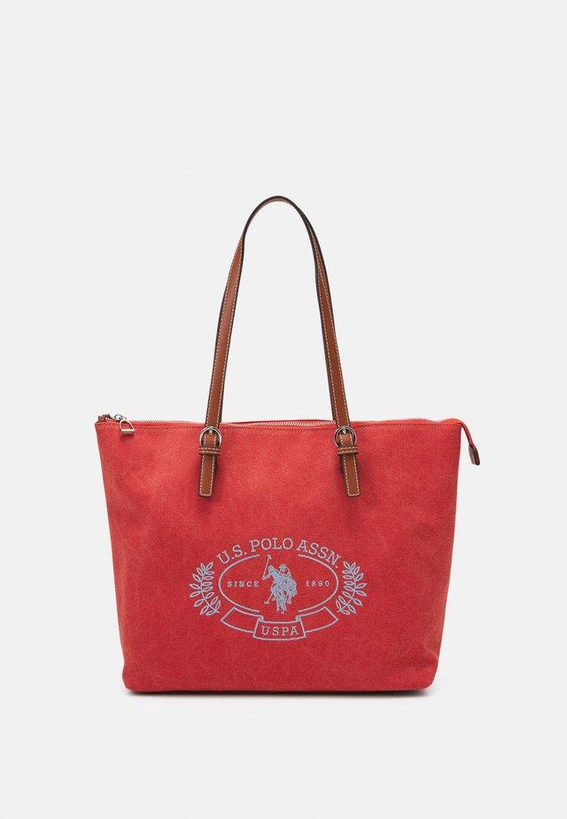 SPRINGFIELD MEDIUM SHOPPING - Handbag - peach