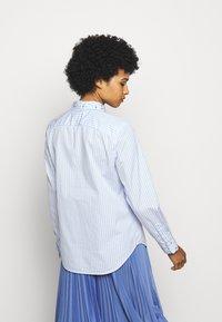 Polo Ralph Lauren - GEORGIA LONG SLEEVE - Button-down blouse - white/blue - 2