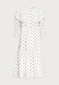 Love Copenhagen - DOTTA DRESS - Skjortekjole - white - 4