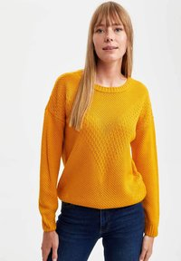 DeFacto - Maglione - yellow - 0