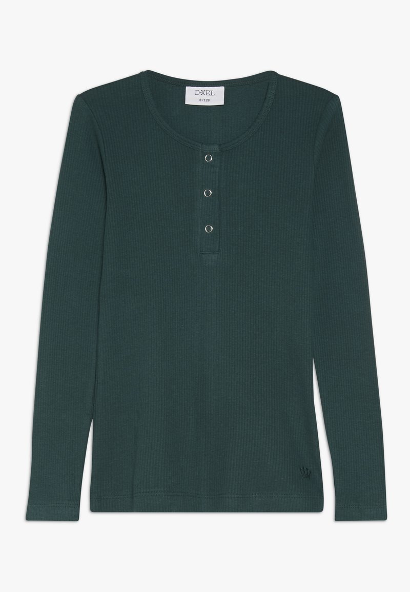 D-XEL - POVLINE - Langærmede T-shirts - bug green