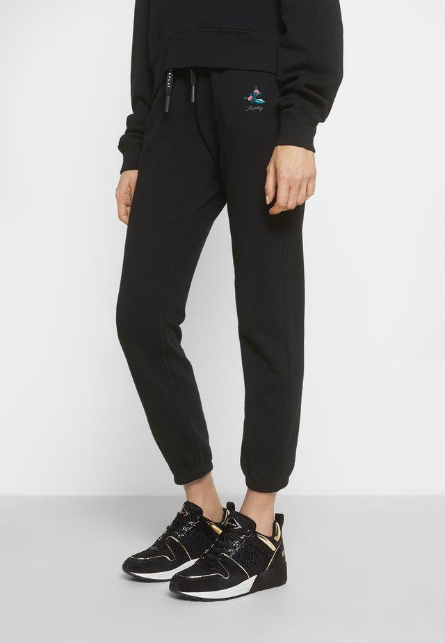 HENLEY - Sneakers laag - black