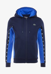 Lacoste Sport - Mikina na zip - navy blue/obscurity navy blue - 3